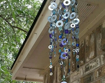 Washer windchime and suncatcher