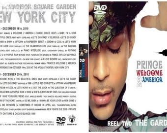 Prince Welcome 2 America New York 6 dvd set