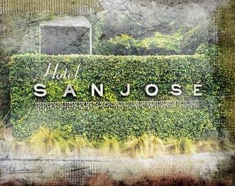 """Austin, Texas - """"Austin San Jose""""-(image is horizontal)"""