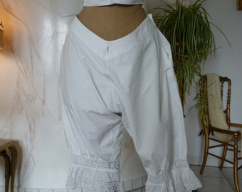 Bloomers, antique lingerie, Victorian bloomers, ca. 1895