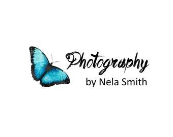 Photography logo, Business logo, Logo design service, logo services, butterfly logo, blue butterfly, professional logo, insect logo