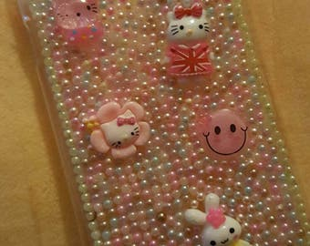 READY TO SHIP - Cute hello kitty and characters Samsung S5 phone case