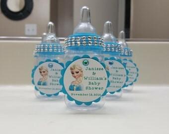 Frozen Baby Bottle Party Favors