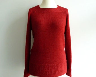 Sweater out of baby alpaca wool (more colors)