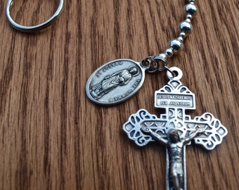 Wire Penal / Pocket Chaplet (One Decade Rosary)
