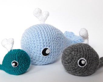 Handmade Whale Amigurumi - Unique Crochet Animals
