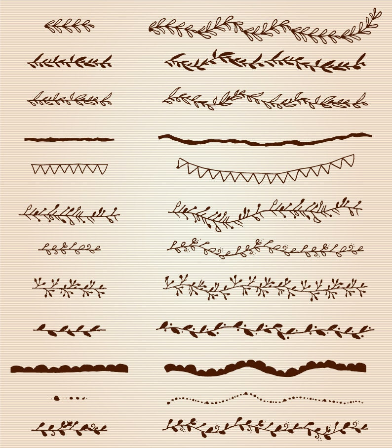 One Line Text Art Copy And Paste : Decorative text dividers clipart divider vector