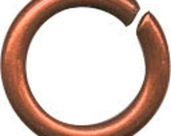 200/500/1000 4mm Copper Jump Ring. Copper Plated Jump Rings 4mm.