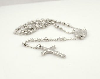 Stainless steel jewelry, Rosary