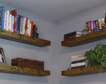 Floating Shelves/ Modern Shelves/ Rustic Shelves/ Wall Mounted Shelves/ Mantel/ Nursery Shelves/ Bathroom Shelf/Book Shelf/Chunky Shelving