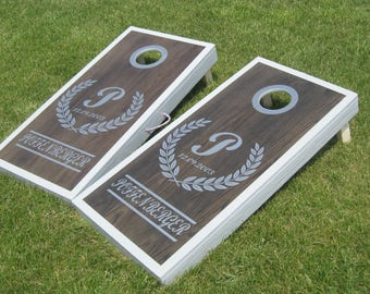 Custom Cornhole Wedding Boards