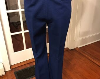 Vintage 1960's Polyester Pants