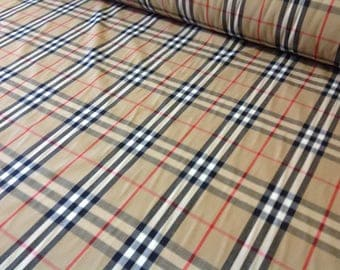 Genuine soft English Branded cotton fabric