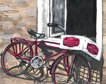 "Printable Illustration ""Bicycle"""