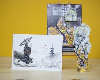 INKTOBER 2016 trip to Japan - collector's edition