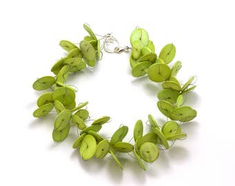 Collier Cocos greenery