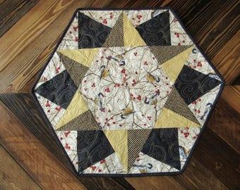Small Hexagon Table Topper