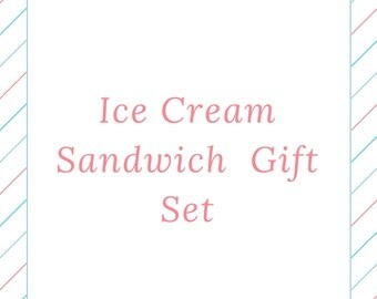 Everything But the Ice Cream: Ice Cream Sandwich Kit