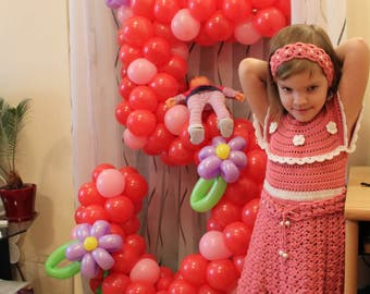 CROCHETED dress for girls
