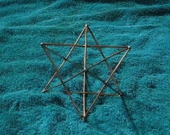 Copper Star Tetrahedron