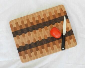 End Grain Cutting Board, Cutting Board, Chopping Board