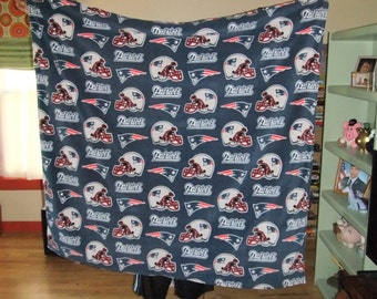 New England Patriots History Blanket-Embroidered-Unique