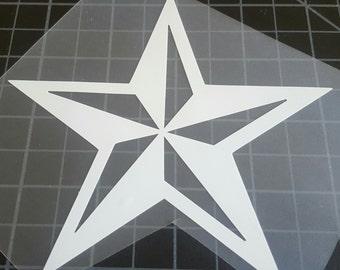 Nautical star car truck laptop
