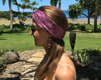 SALE! // Violet Sunset Head Wrap