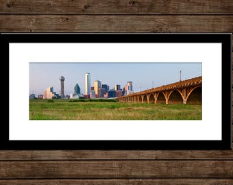 "Dallas Skyline Panorama | ""Dallas Panorama"" 