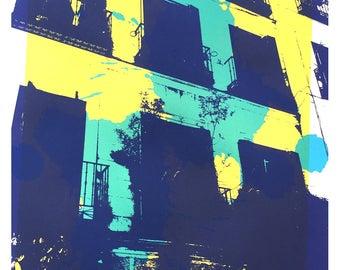 Piso - Yellow Screen Print