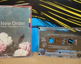 Power, Corruption & Lies by New Order Vintage Cassette Tape