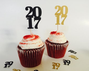 2017 Cupcake Toppers