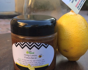 Honey Lemon Facial Scrub