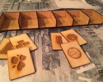 Card Holder, Board game upgrade/component.