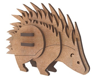 Porcupine or Hedgehog - 3D puzzle