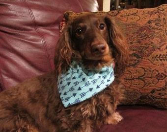 Dog bandana - collar bandana - dachshund bandana - reversible bandana - pet bandana -