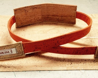 camera strap, vegan, California Orange