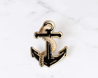 Anchor Enamel Pin