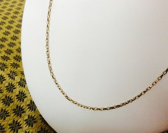 9K Yellow Gold Vintage Chain