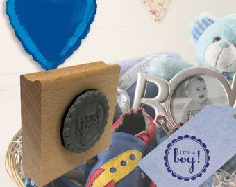 It's a Boy! Rubber Stamp