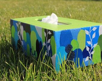 "Tissue box ""Forest"""