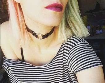 Vegan O-ring Choker
