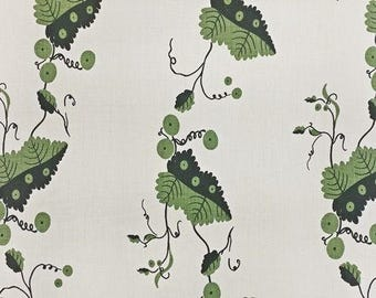 Nicholas Haslam Greenbrier Linen Designer Fabric by the yard