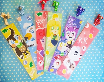 Animal Crossing Bookmarks