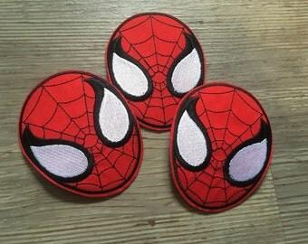 Spiderman Iron On Patch