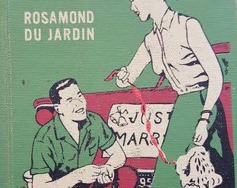 1958 Vintage Book -  Wedding in the Family by Rosamond Du Jardin