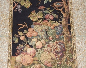 Vintage French Beautiful Tapestry 0160