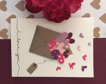 Romantic Card- I Love You- For Girlfriend- For Boyfriend