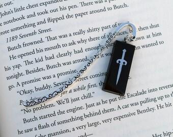 Black Dagger Brotherhood-Inspired Dagger Bookmark