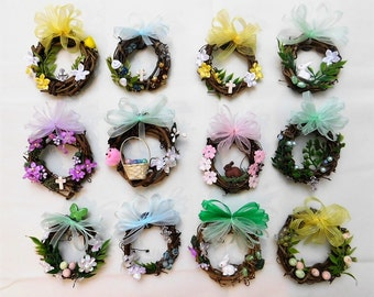 Handmade Easter Wreath Magnets for Home, Office, Teachers, Family, Friends!